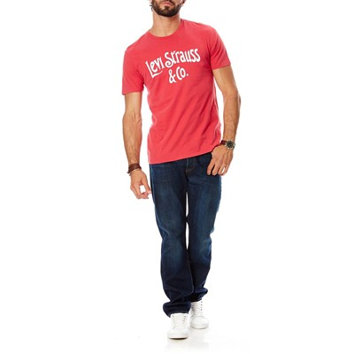 LEVI'S Graphic tee - T-shirt - rouge