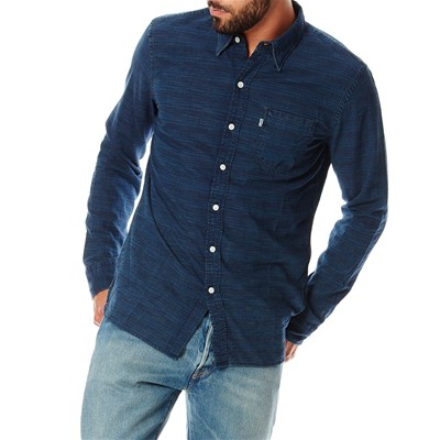 Sunset 1 POcket - Chemise - denim bleu