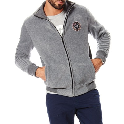 CAMBERABERO Sweat polaire - gris