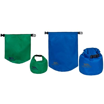 TRESPASS Exhilaration - Lot de 2 sacs étanches - bicolore