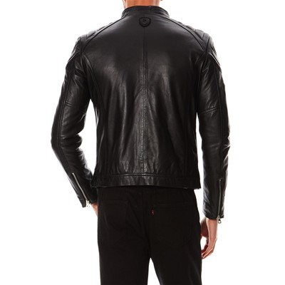 REDSKINS Flash - Blouson style biker - noir