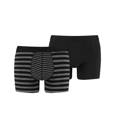 PUMA Lot de 2 boxers - denim noir