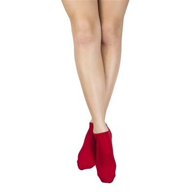 MY LOVELY SOCKS Sacha - Chaussettes invisibles - rouge