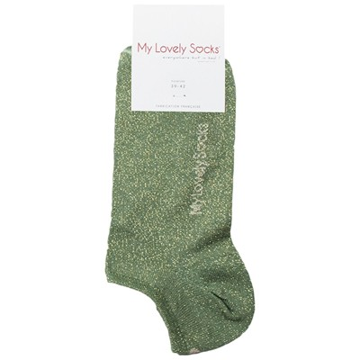 MY LOVELY SOCKS Ava - Chaussettes invisibles - vert chêne