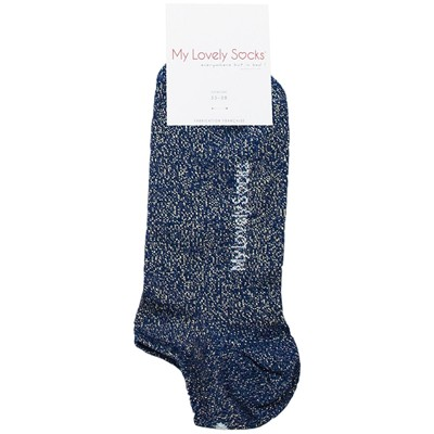 MY LOVELY SOCKS Ava - Chaussettes invisibles - bleu marine