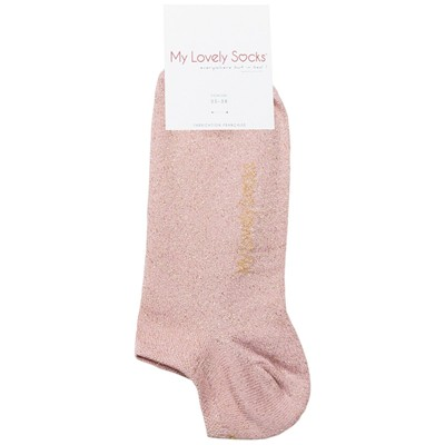 MY LOVELY SOCKS Ava - Chaussettes invisibles - rose clair
