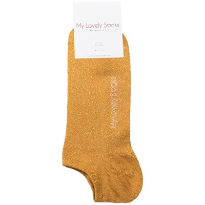MY LOVELY SOCKS Ava - Chaussettes invisibles - moutarde