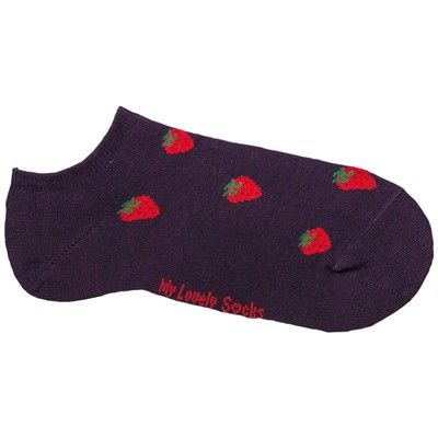 MY LOVELY SOCKS Charlotte - Chaussettes invisibles - violet