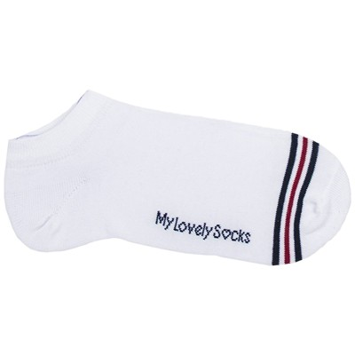 MY LOVELY SOCKS Malo - Chaussettes invisibles - blanc
