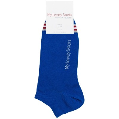 MY LOVELY SOCKS Malo - Chaussettes invisibles - bleu