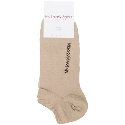 MY LOVELY SOCKS Luigi - Chaussettes invisibles - taupe