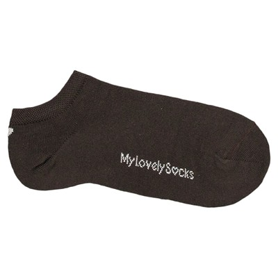 MY LOVELY SOCKS Zelie - Chaussettes invisibles - marron