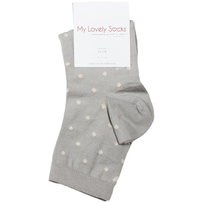 MY LOVELY SOCKS Fanny - Socquettes - gris clair
