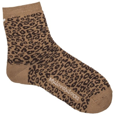 MY LOVELY SOCKS Rose - Socquettes - marron clair