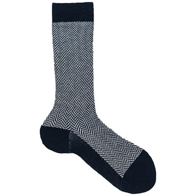 MY LOVELY SOCKS Albert - Mi-chaussettes - bleu marine