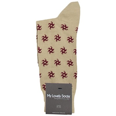 MY LOVELY SOCKS Charles - Mi-chaussettes - beige