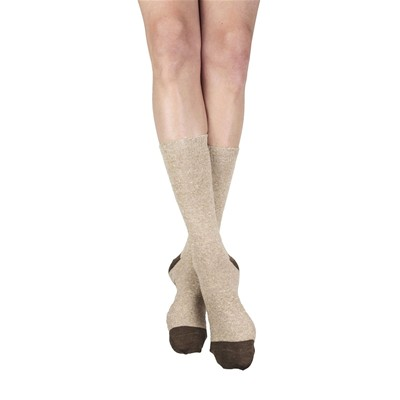 MY LOVELY SOCKS Fred - Mi-chaussettes en laine - beige