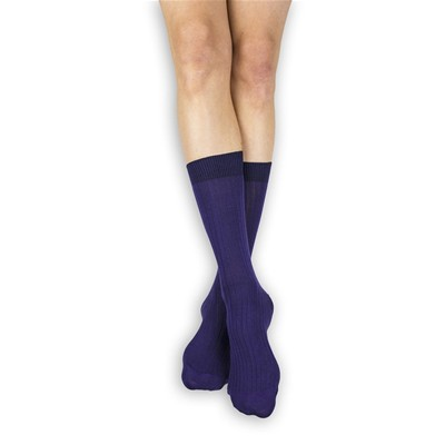 MY LOVELY SOCKS Jules - Mi-chaussettes - violet