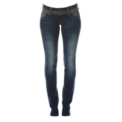 Doris 220 - Jean regular - bleu