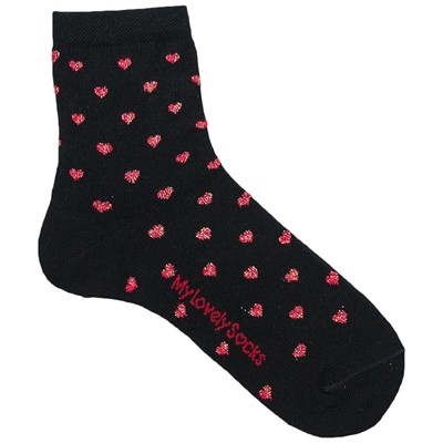 MY LOVELY SOCKS Darling - Socquettes - noir