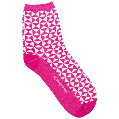 MY LOVELY SOCKS Marthe - Socquettes - fuchsia