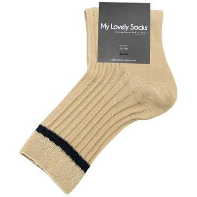 MY LOVELY SOCKS Suzanna - Socquettes - beige
