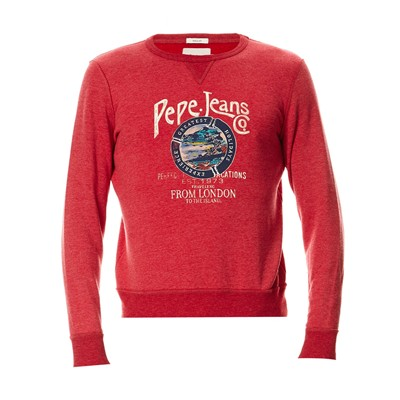 Melville - Sweat-shirt - rouge