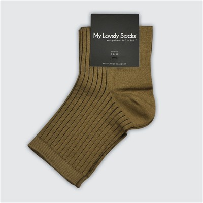 MY LOVELY SOCKS Julia - Socquettes - marron