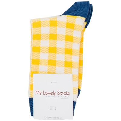 MY LOVELY SOCKS Lea - Socquettes - jaune