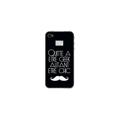 Loca Loca sticker pour iphone 5/5s - noir