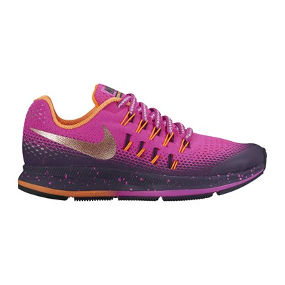 zapatillas Nike ZOOM PEGASUS 33 SHIELD (GS) Zapatos de marcha multicolor