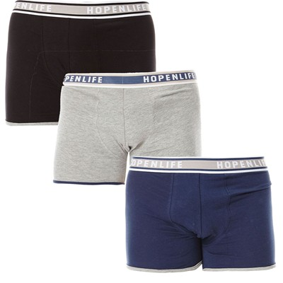 HOPE N LIFE Usadas - Lot de 3 boxers - tricolore