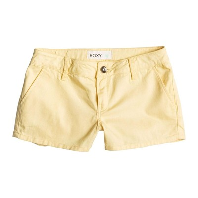 Mini short - jaune