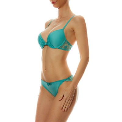 PASSIONATA Glamourous - Soutien-gorge push-up - turquoise