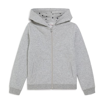MONOPRIX KIDS Sweat à capuche - gris chine