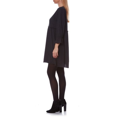 Romi - Robe blousante - anthracite