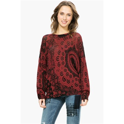 Trendy - Pull - bordeaux