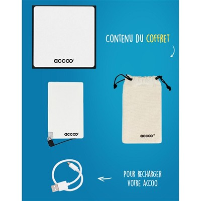 ACCOO Chargeur nomade