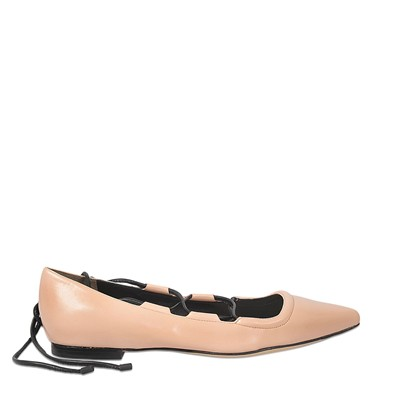 Phillip Lim - Ballerines en cuir - rose