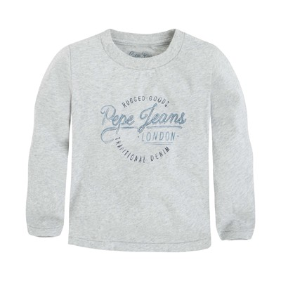 PEPE JEANS LONDON Taylor kids - T-shirt - gris chine
