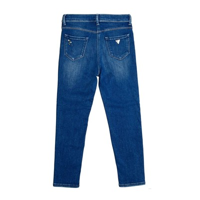 GUESS KIDS Jean boyfriend - denim bleu