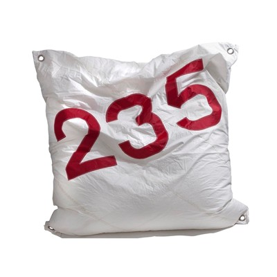 727 Sailbags maxi - pouf - rouge