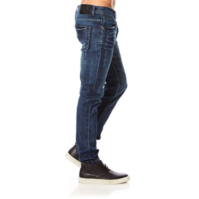 BEST MOUNTAIN Jean skinny - bleu marine