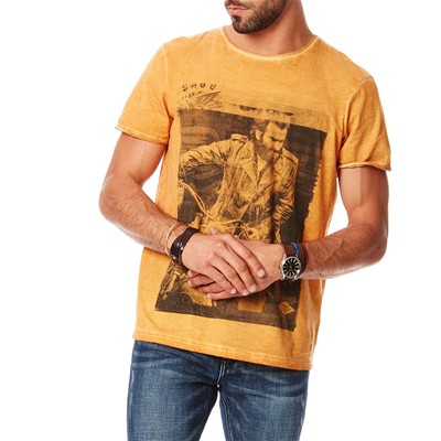 Best Mountain t-Shirt manches courtes - ocre