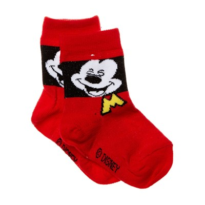 DISNEY Mickey - Chaussettes - rouge