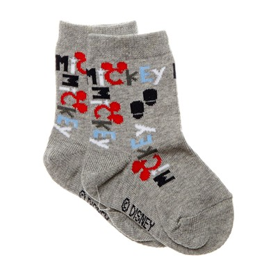DISNEY Mickey - Chaussettes - gris chine