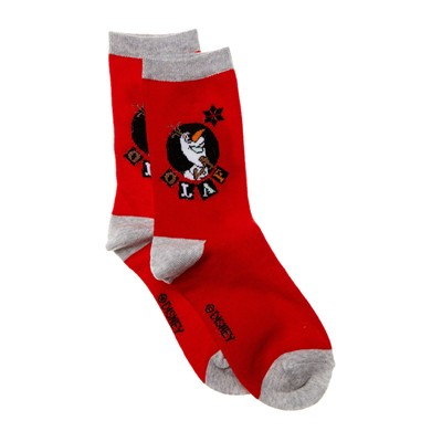 DISNEY Olaf - Chaussettes - rouge
