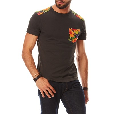SUNDEK T-shirt - denim noir