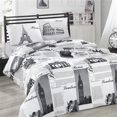 Holy Cotton Conjunto de cama - gris