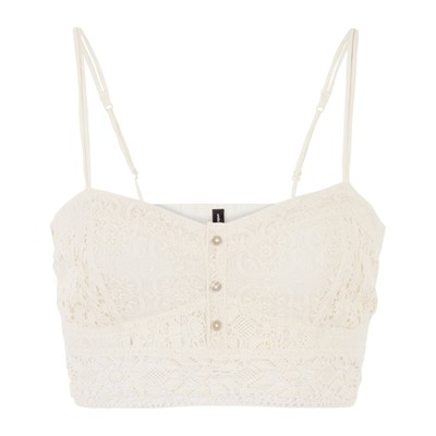 Undiz Crop Top - blanco